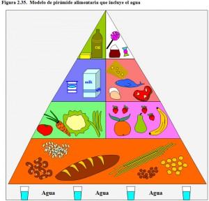 F.2.35. Pirámide alimentaria agua